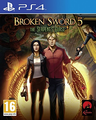 Broken Sword 5: The Serpent's Curse [PlayStation 4, PS4] by Revolution