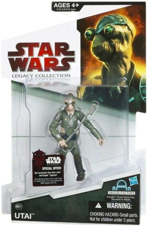 Hasbro Star Wars Legacy Collection Buildadroid Action Figure Bd No. 41 Utai Alien