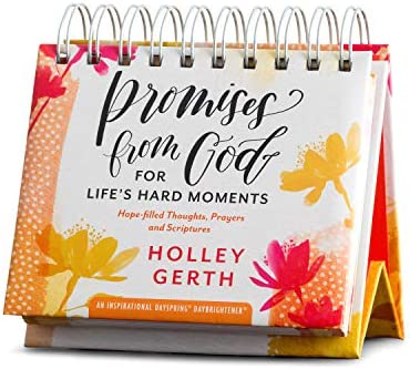 DaySpring Holley Gerth Promises From God Perpetual Calendar 90856 White product image