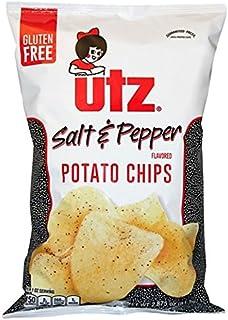UTZ Potato Chips, Salt & Pepper, 2.875 Oz Bags (Pack of 4)