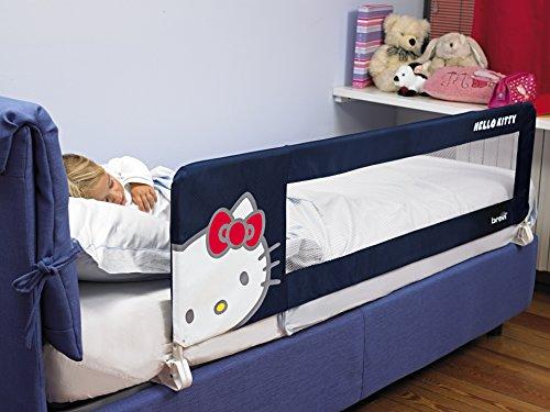 Brevi Barrière pour lit enfant, motif Hello Kitty 312HK 150 cm bleu