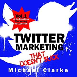 Twitter Marketing That Doesn't Suck audiobook cover art