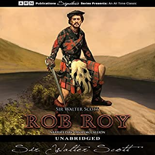 Rob Roy audiobook cover art