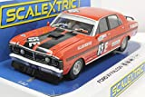 Scalextric Ford XY Falcon Bathurst 500 1971 1:32 Slot Race Car C3928, Red & Black