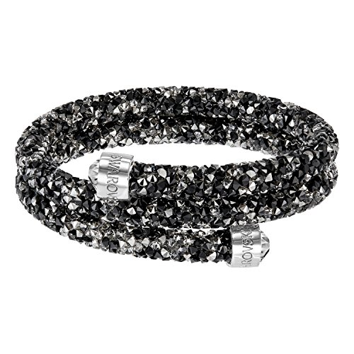 Swarovski Crystaldust Armreif Doppel S Dunkle Kristalle 5255909