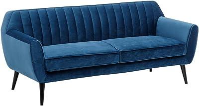 MerkaHome Sofa Cama Clic clac con chaiselongue Loira Cama ...
