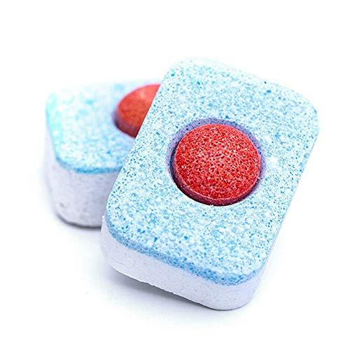 Syfinee Detergente para Lavavajillas Concentrado Enjuague Bloque Lavaplatos Pastillas - 10 Piezas