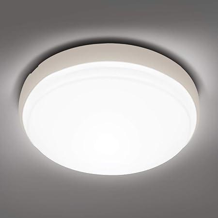 LED-Deckenleuchte 1800 lm Korridor tageswei/ß b/ündige Deckenleuchte 2 Jahre Garantie 18 W Flur IP44 4000 K Beleuchtung f/ür Badezimmer K/üche Gr/ö/ße: 220 x 48 cm Bad-Deckenleuchte B/üro