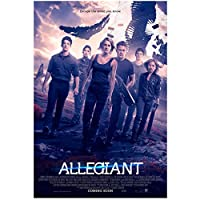 Weitaianthe Divergent Series:Allegiant(2016)Movie Poster Artwork Canvas Print Painting For Living Room Bedroom Wall Art Decor-50X70Cm Unframed