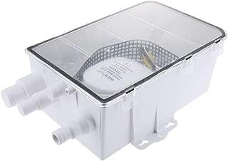 FLAMEER 600GPH 24V Shower Sump Pump System Auto Bilge Drain Box Air Vent Boat RV