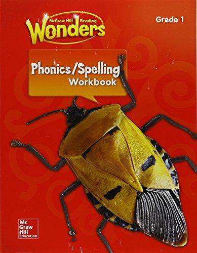 Reading Wonders Spelling & Phonics Workbook, Student Edition Grade 1