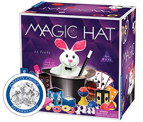 Thames & Kosmos Magic Hat with 35 Tricks | 24-Page Illustrated Instruction in Full Color | for Magicians Ages 6+