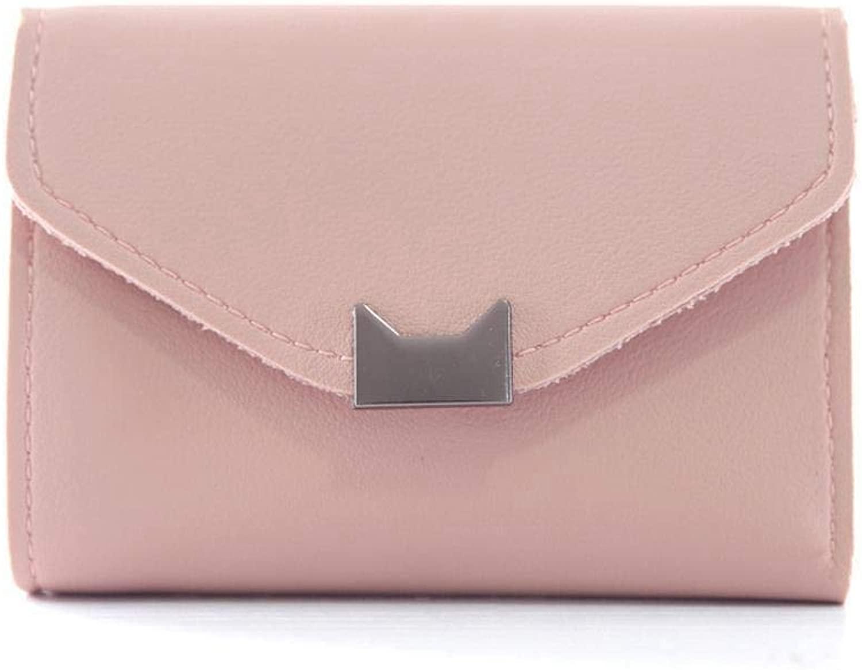 Girls Purse Women's Wallet,Women's Short 30 Percent Coin Clip Student Simple Retro Small Wallet