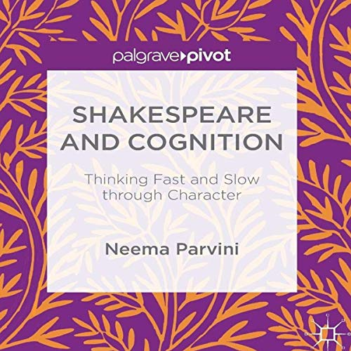 Shakespeare and Cognition audiobook cover art