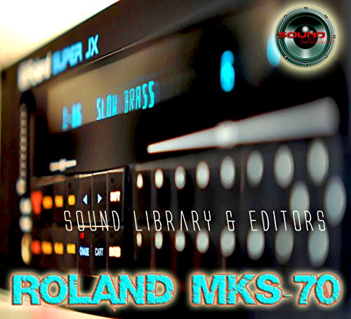 Sale!! for ROLAND MKS-70 Original Factory & NEW Created Sound Library & Editors on CD or download