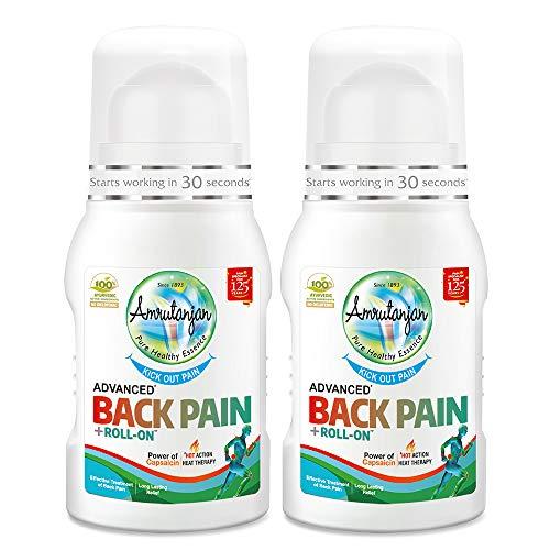 AMRUTANJAN Back Pain ROLLON (2 Units)