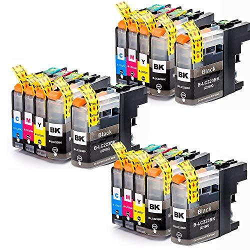 Teland - Cartuccia di ricambio per Brother LC223 LC 223, compatibile con Brother DCP-J562DW MFC-J4120DW J5320DW J880DW J5620DW J5625DW J680DW J4625DW J5720DW J4420DW J4620DW J480DW