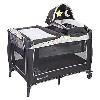 Baby Trend Lil Snooze Deluxe 2 Nursery Center Twinkle Twinkle Moon