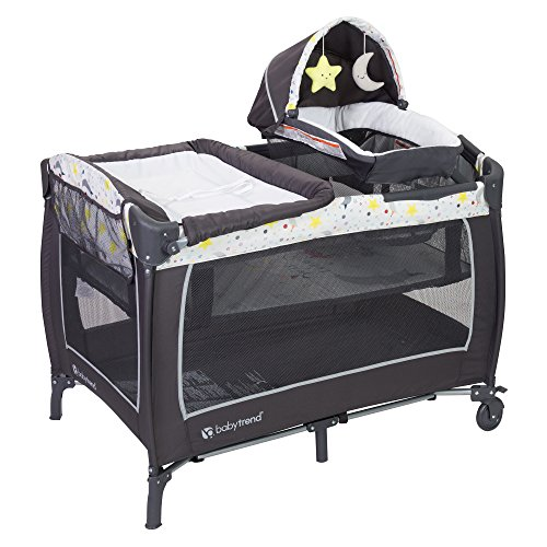 Baby Trend Lil Snooze Deluxe 2 Nursery Center, Twinkle...