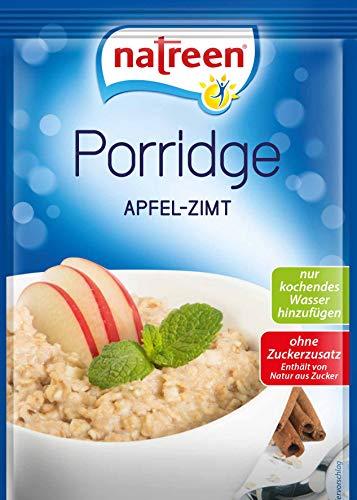 natreen Porridge Apfel Zimt, 13er Pack (13 x 65 g)