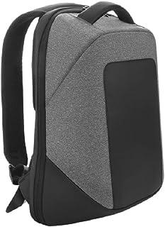 Santhome Anti Theft Laptop Unisex Backpack I External USB Port I Hard exterior to retain shape I Light weight IBusiness Co...