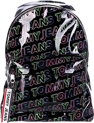 Tommy Hilfiger TJW Logo Tape Backpack Black Print