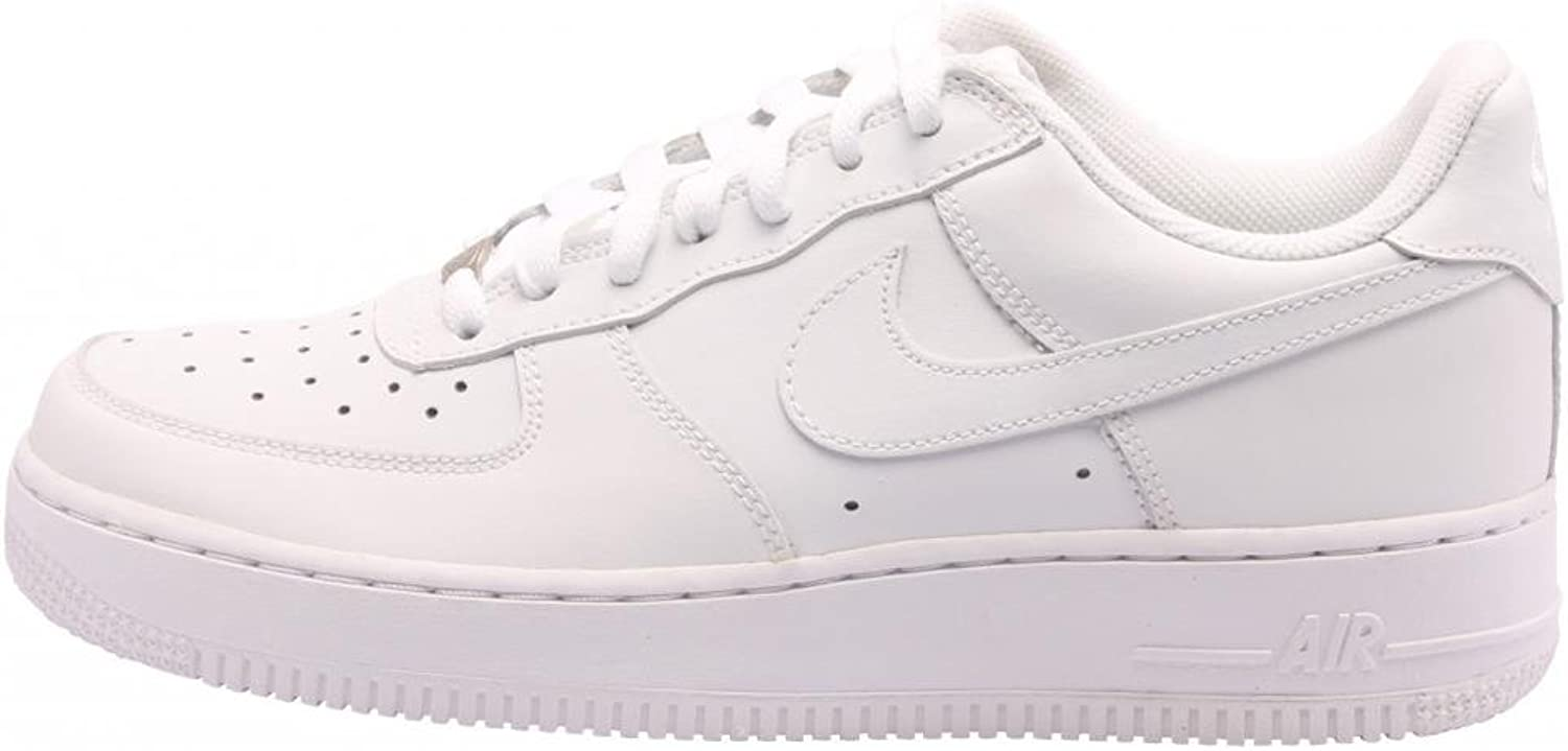 Nike Gradeschool Air Force 1 White 314192-111