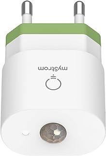 myStrom WiFi Motion Sensor, rilevatore di movimento, commuta quando viene rilevato un movimento, risparmia automaticamente...
