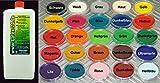 1Liter Flüssiglatex OHNE AMMONIAK viele Farben...