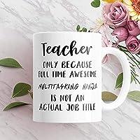Teacher Gifts School Teacher Coffee Mug Teacher Thank You Mug Teacher Thank You -マグカップ マグカップ コーヒーカップ マグ 英文字母マグカップ コーヒーカップ かわいい セラミック 耐熱カップ セラミック ティーカップ 300ml