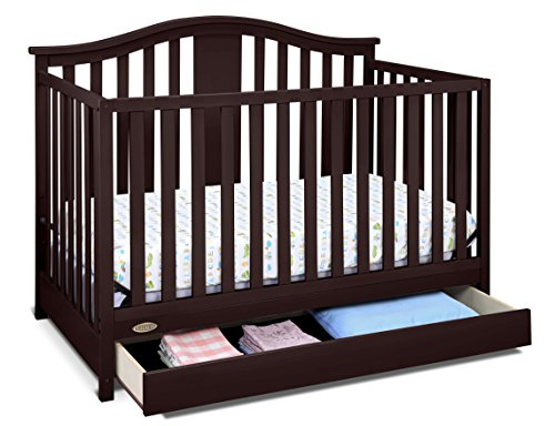 Storkcraft Graco Solano 4-in-1 Convertible Crib with...