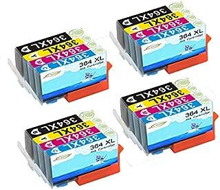 364 M 364 C Set 364Y NON-OEM//COMPATIBILI 16 Cartucce d/'Inchiostro per sostituire HP 364Bk