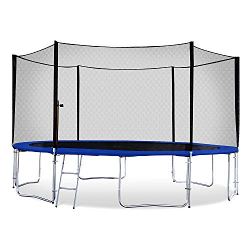 Exacme Outdoor Trampoline with Enclosure Ladder for Kids H...