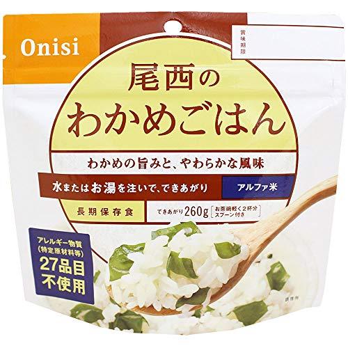 尾西食品アルファ米12種類全部セット(非常食5年保存各味1食×12種類)