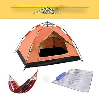 2020 nya camping automatiska tält familj utomhus turist tält fyra säsonger vattentätt 1-4 resetält sol strandskydd – stor 3