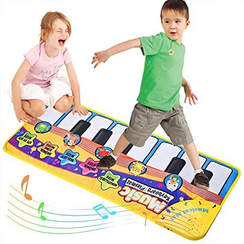 Fabur Alfombra Musical,Alfombra Piano Canto de Teclado Ester