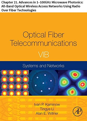 Optical Fiber Telecommunications VIB: Chapter 21. Advances in 1–100GHz Microwave Photonics: All-Band Optical Wireless Access Networks Using Radio Over ... (Optics and Photonics) (English Edition)