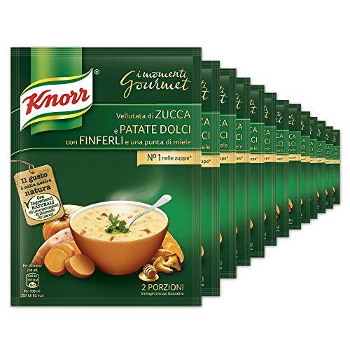 Knorr Vellutata Zucca - Confezione Da 17 Pezzi - 1.19 kg