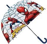 Spiderman Paraguas Transparente Campana, 69 cm de...