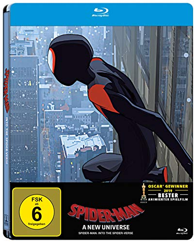Spider-Man: A new Universe Steelbook [Blu-ray]