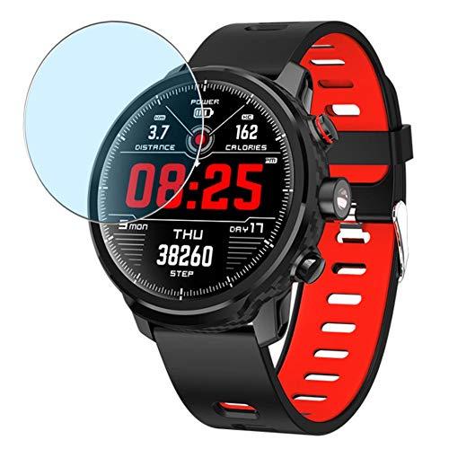 Vaxson 3 Stück Anti Blaulicht Schutzfolie, kompatibel mit Padgene L5 smartwatch Smart Watch, Displayschutzfolie Bildschirmschutz [nicht Panzerglas] Anti Blue Light