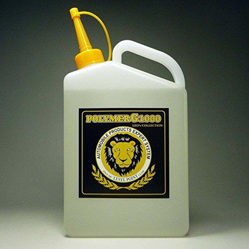 コーティング剤 超撥水性能を装備したガラス繊維系コーティング剤・濃縮原液タイプのポリマーG1000・1000ml(液剤のみ)