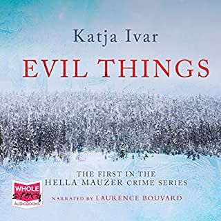 Evil Things audiobook cover art