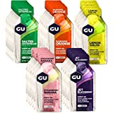 GU Energy Original Sports Nutrition Energy Gel, Assorted Fruity Flavors, 24-Count