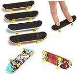 Aokshen Boy Fingerboard Deck Truck Skateboard Spielzeug für Kinder Fingerboards inkl. 5 Stück -