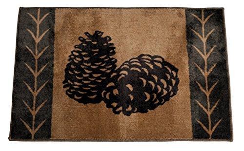 pine cone kitchen rugs - 3