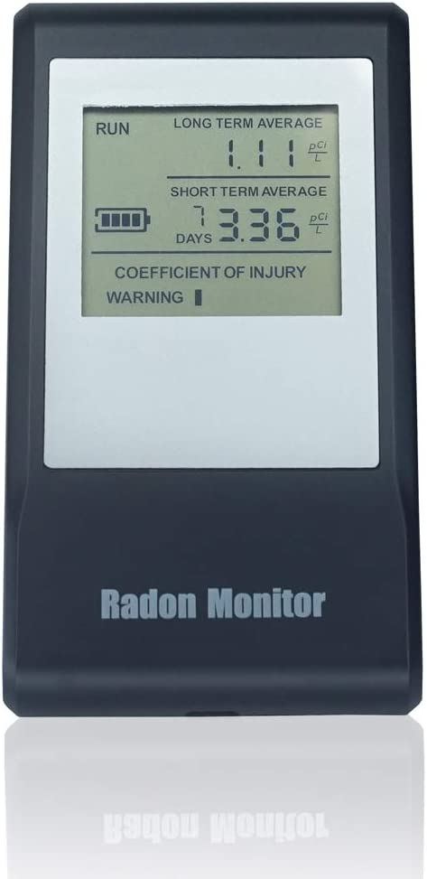 Air Ae Steward - Portable Popular popular Monitor with Radon Rechargeable Special sale item Batter