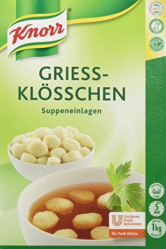 Knorr Grieß-Klößchen Chef 1 kg, 1er Pack (1 x 1 kg)