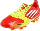 adidas F10 TRX FG Soccer Cleat (Little Kid/Big Kid),High Energy/Electricity/White,1.5 M US Little Kid