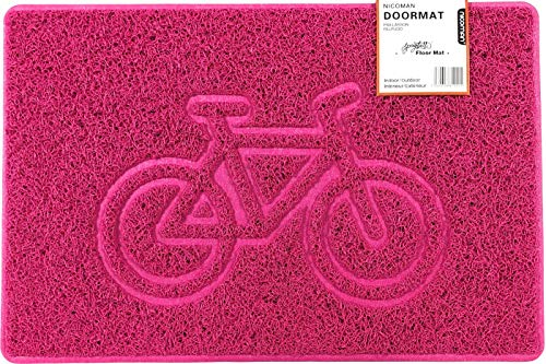 Nicoman fiets reliëf vorm deurmat Vuil Trapper Jet-wasbare deurmat